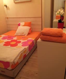 Chambre 2 places dans chalet en bois - Chalet