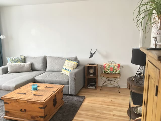 Charmant logement entier dans la ville de Québec - Ville de Québec - Wohnung