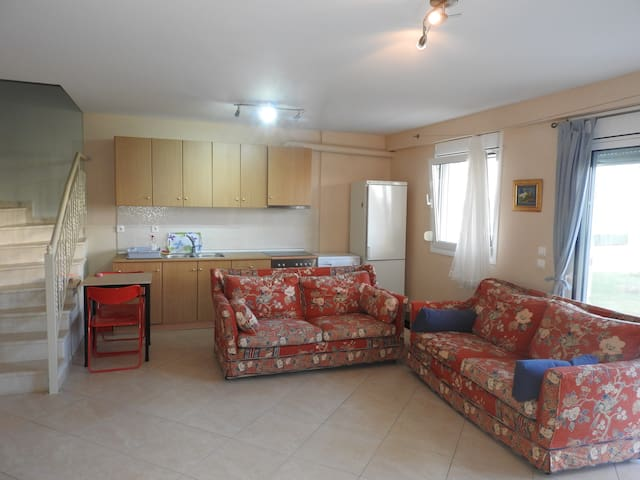 R44 Amazing maisonette in wonderful complex . - Nea Triglia - Wohnung