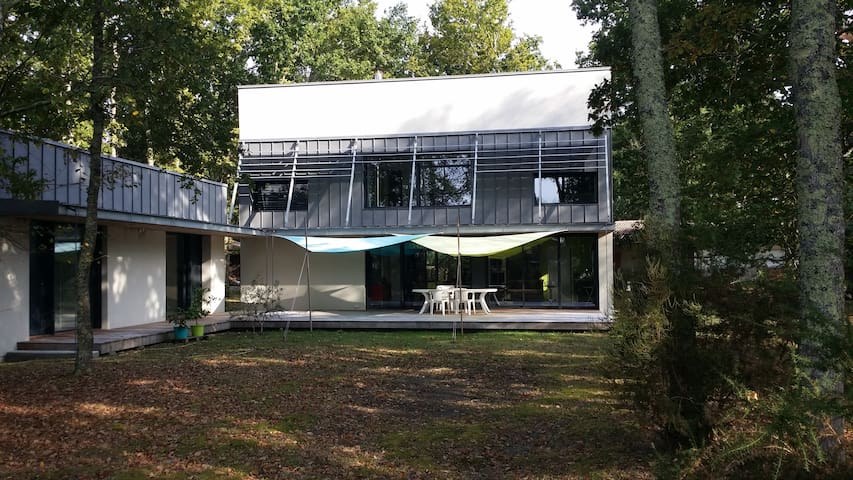 Belle maison contemporaine à 5 km de l'océan - Naujac-sur-Mer - Rumah