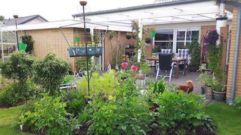2 δωμάτια σε Grindsted - άνετο κήπο