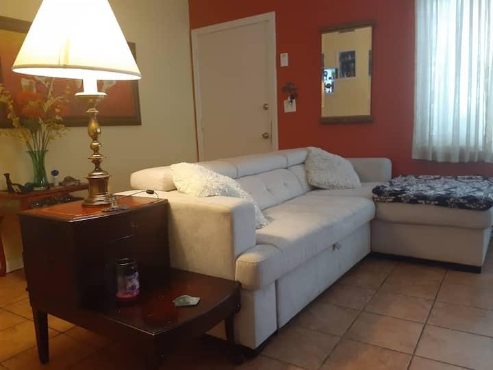 Beautiful Room in Florida Bungalow near downtown