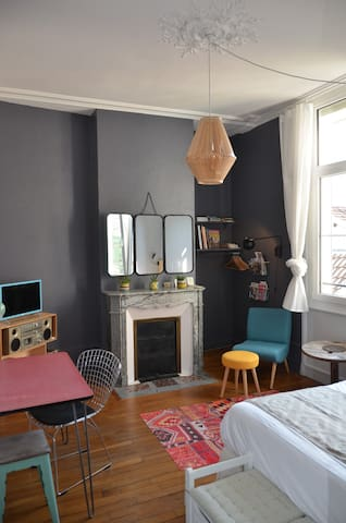 Charming studio - Reims center
