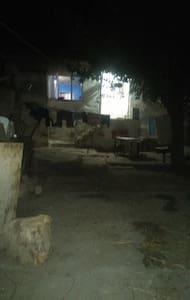 Temiz hava bol oksijen ve tatlı bşr köy evi