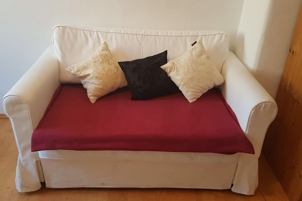 Sofa bed for two persons