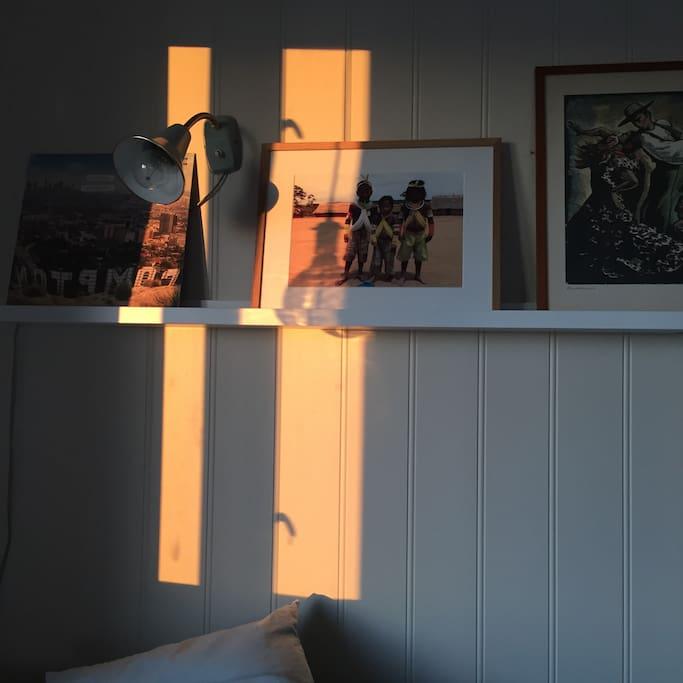 When the midnight sun hits the livingroom