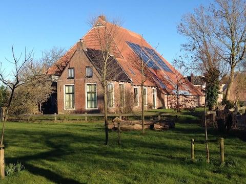 Tuinhuisje bij stadsboerderij