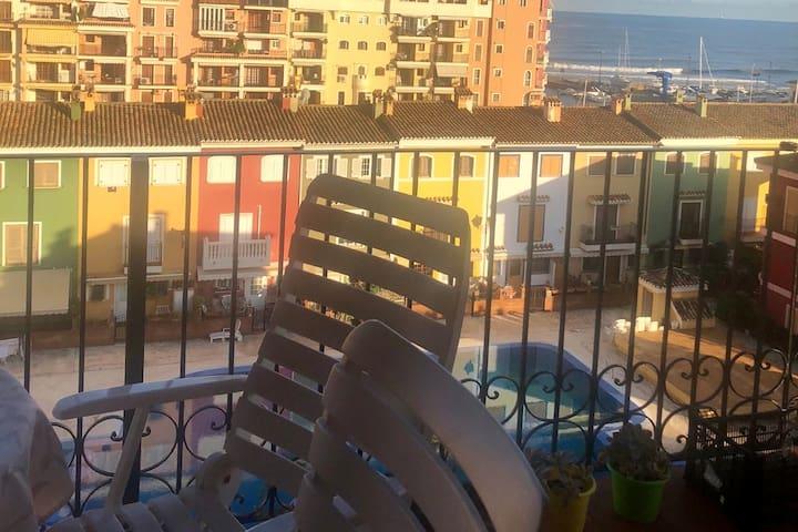 Habitación en apartamento en la Pequeña Venecia