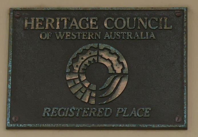 Heritage listed