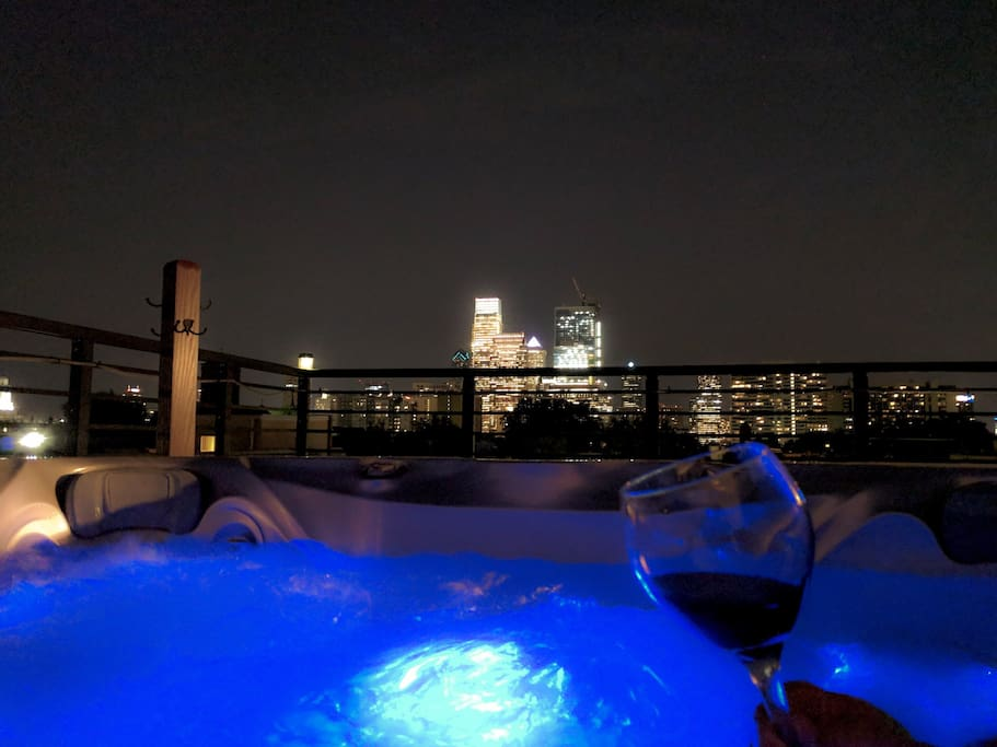 Private Rooftop Jacuzzi W City View Amp Modern Home Houses