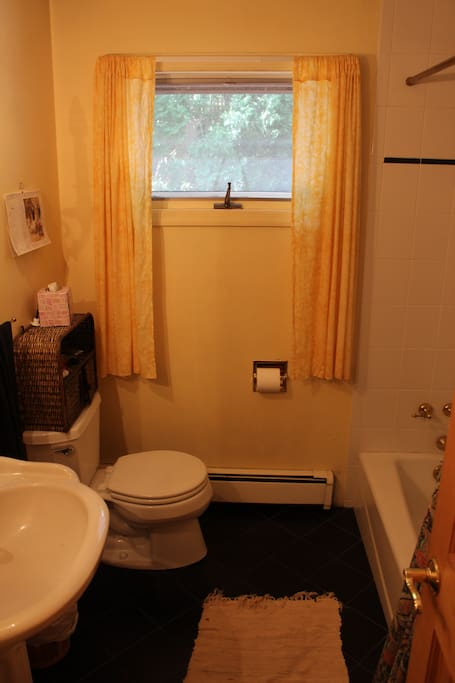 downstairs full bath