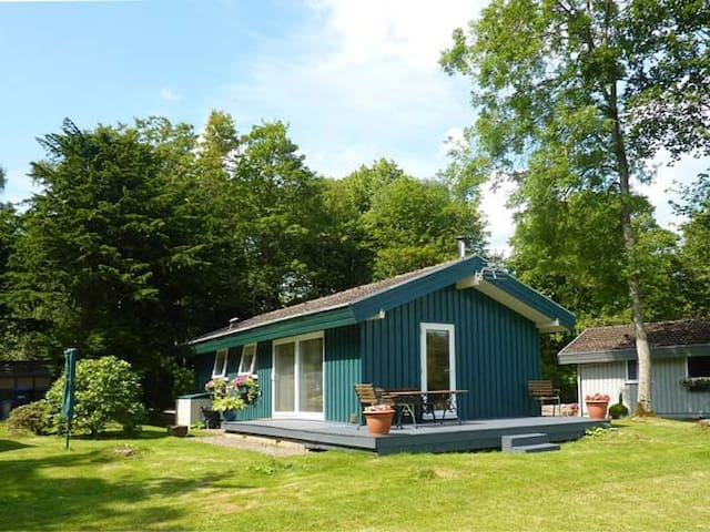 MEADOW LODGE, family friendly, with open fire in Coldingham, Ref 1855