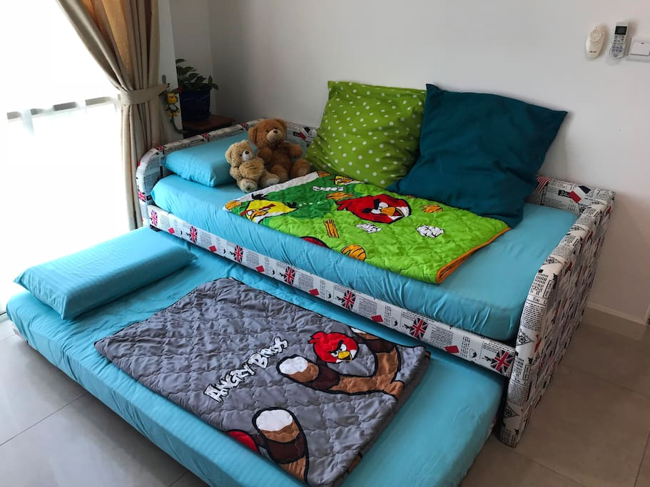 Pull-out Sofa Bed (After)