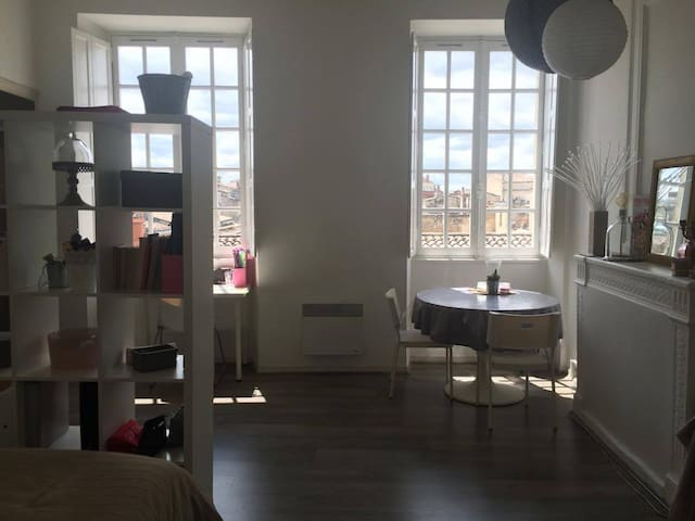 Charming apartment central Bordeaux - Bordeaux - Lägenhet
