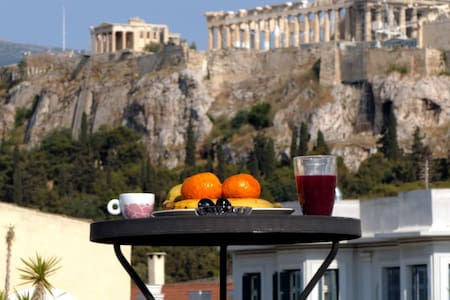 Happy Place at the foot of Acropolis - Athens - Apartment