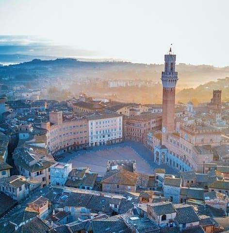 Bilocale nel centro di Siena
