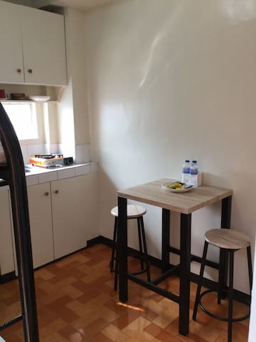 Quezon City Studio Unit -H (Double Deck)Furnished