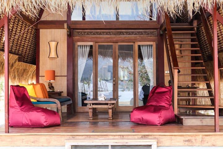 Sea View Lumbung Gili Asahan Eco Lodge