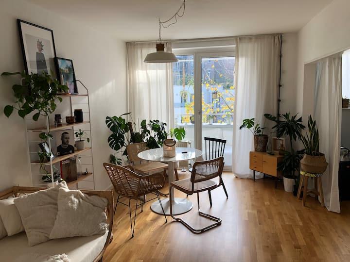 Moderne helle Südstadt Wohnung mit Balkon