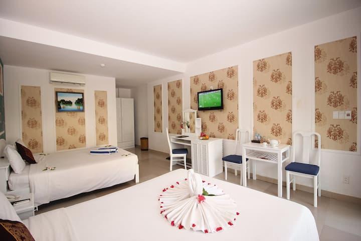 Deluxe room with beautiful garden & terrace