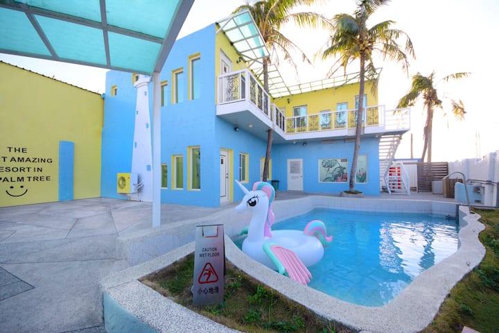 墾丁棕櫚宿 KT.Palmtree 包棟Villa