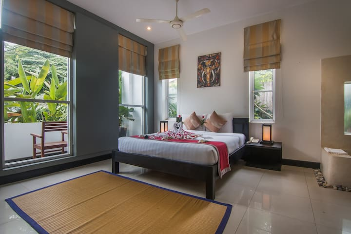 Double Room with Pool View - View