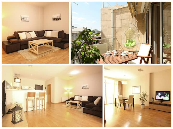 Top location★private terrace☀ crispy apt✿Old City♚