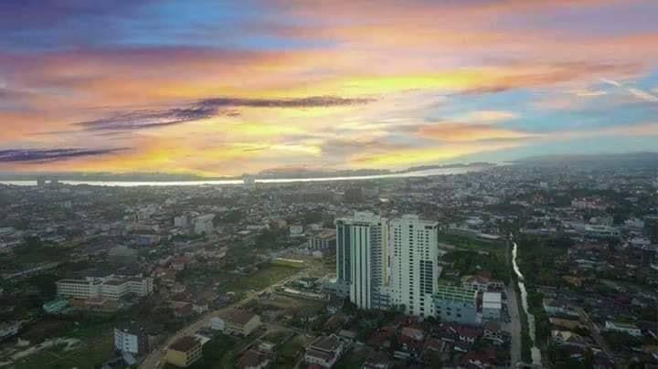The highest Sky View Condo 24th floor in Vientiane