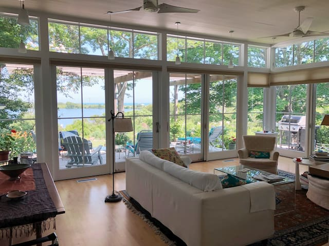 Waterfront 3 bedroom contemporary house Falmouth