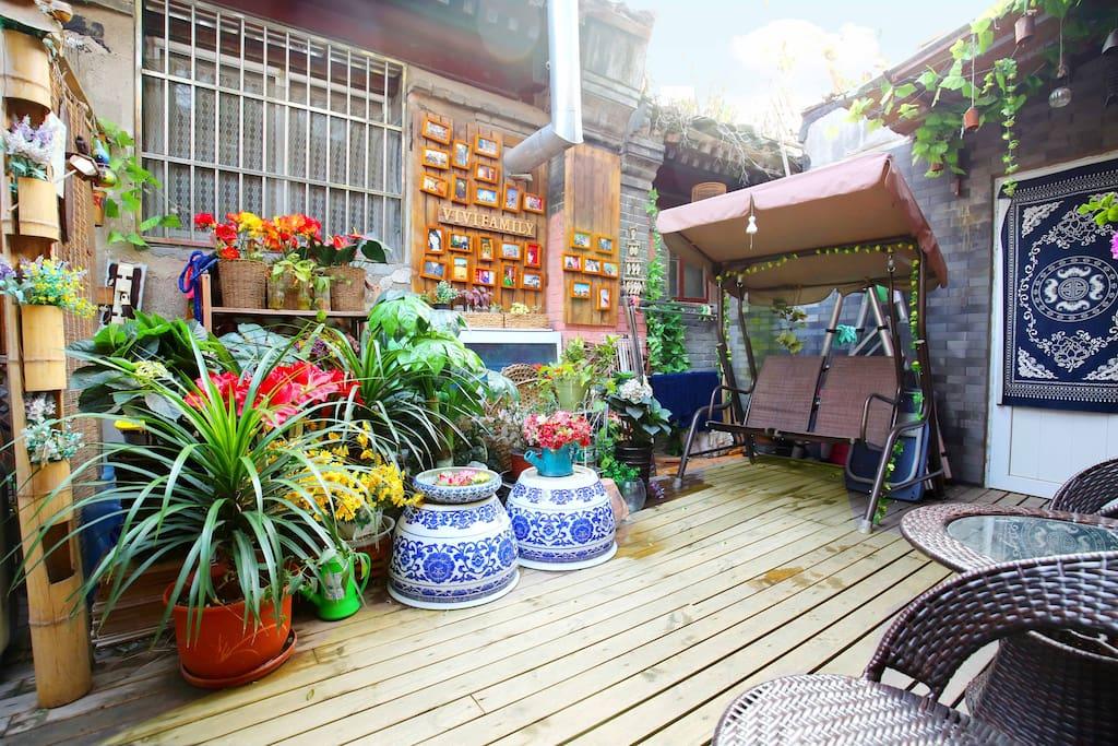 Beautiful courtyard!漂亮的小院