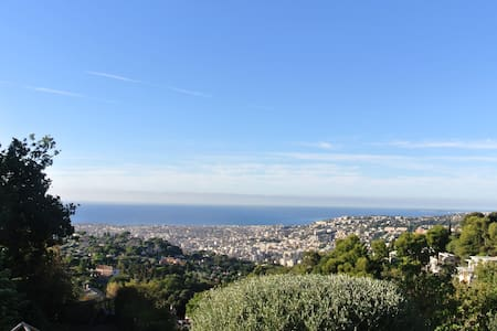 Cozy guesthouse overviewing Nice and the sea - Nizza