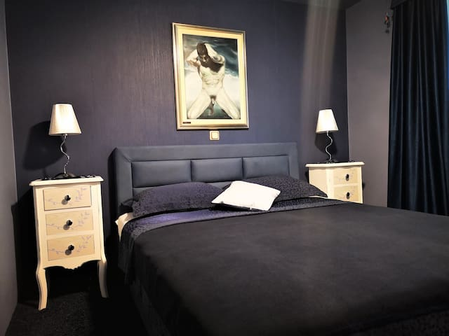 Thorina apartments - Blue Flower