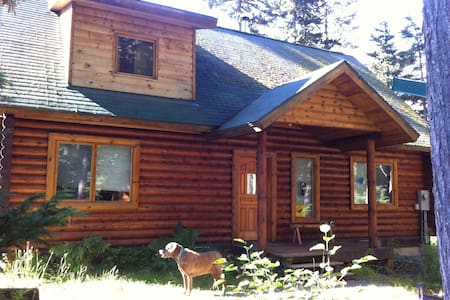 Cozy Girdwood Log Home Get-away - Ev