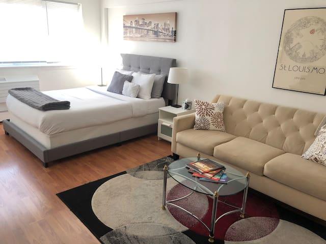 New Chicago Cozy Beach Apartment, CTA, Lake Shore
