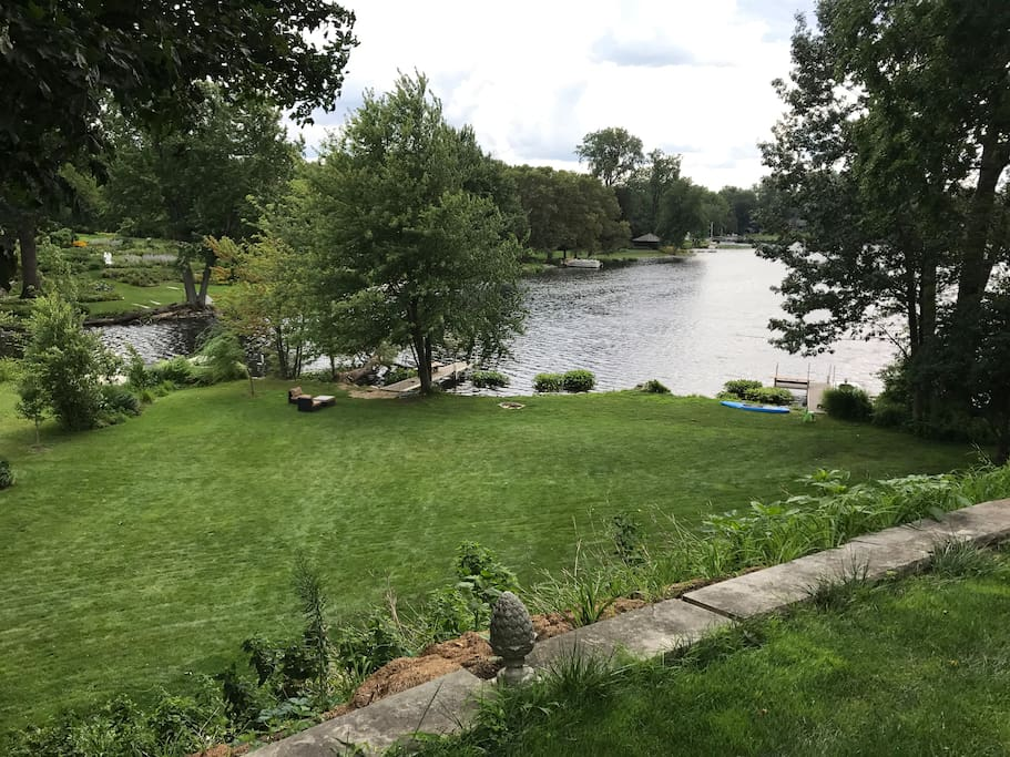 Summer view of Lake