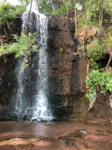 Waterfall only 20 minutes away! Hidden treasure that I found and not a lot of locals know about! I will share the location with you when you get here.