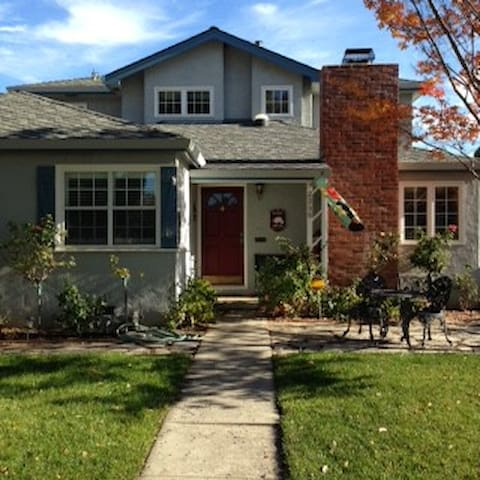 Beautiful home on residential street in highly desirable Willow Glen neighborhood.