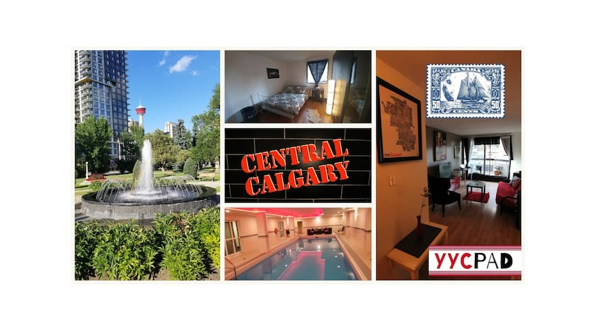 ⭐YYCPAD⭐ Downtown [Beltline] w/ Pool, Gym, & Sauna