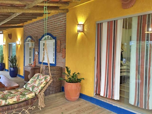 Casa Caxandó rusticidade e conforto em Mogiquiçaba