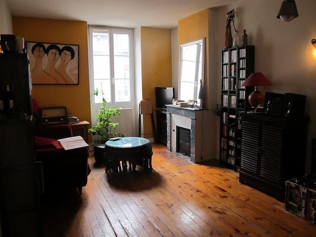 appt agréable, calme, chambres donnant sur jardin - Bordeaux