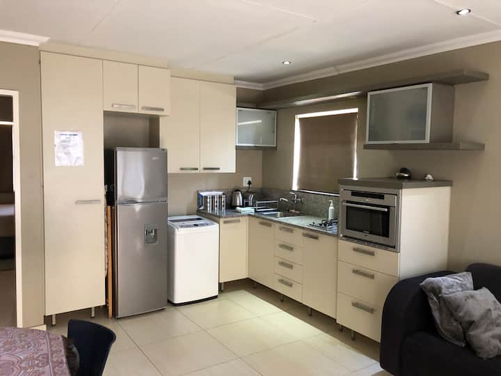 Stylish private unit in security complex close