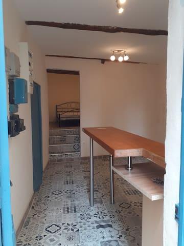 Entrée coin cuisine