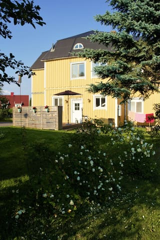 Villa Levin in a small Swedish seaside village
