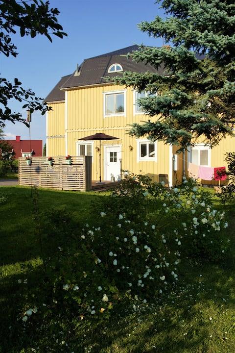 Villa Levin in a small Swedish seaside village
