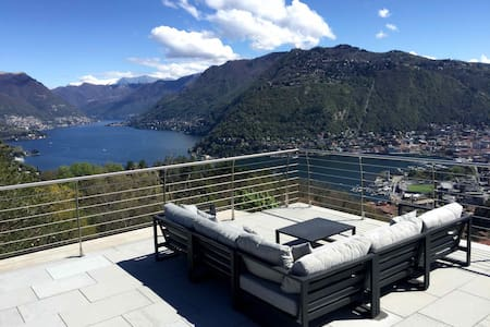 Villa Cardano, Penthouse, Stunning View