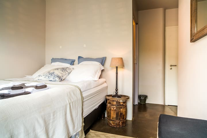 Room 4, queen bed,private bath, in cozy guesthouse