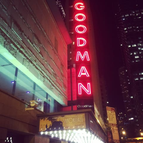 The Goodman has great shows and reasonable prices