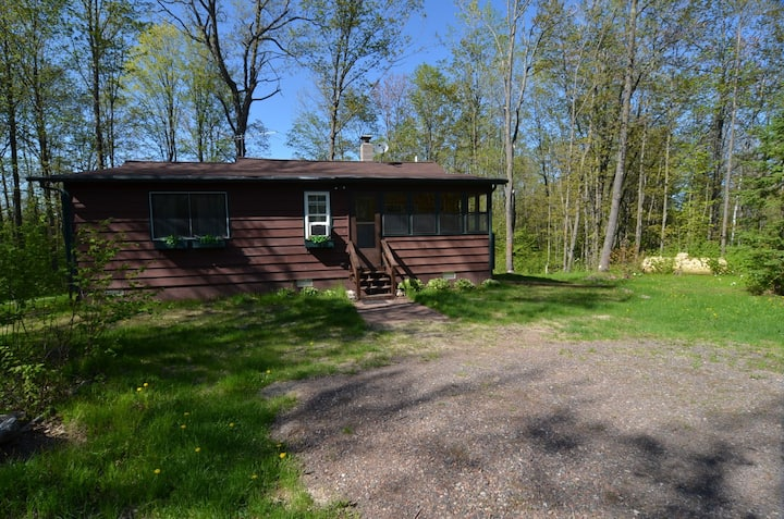 Oak Ridge Cabin ~ Drummond Area, WI - Hosted by North Country Vacation Rentals