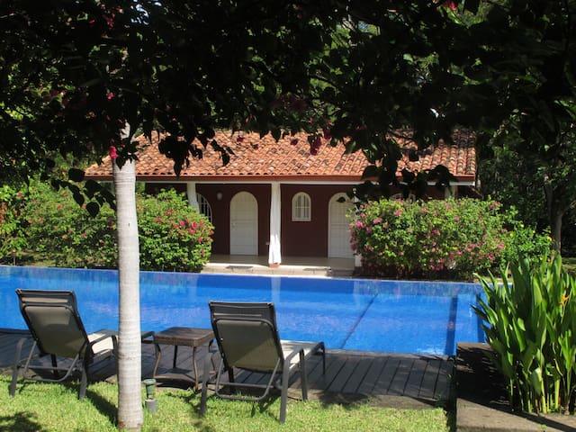 Casa Mapache - Room view pool - Tamarindo - Bed & Breakfast