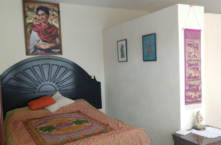 Habitación con hermoso Jardín en Ixmiquilpan